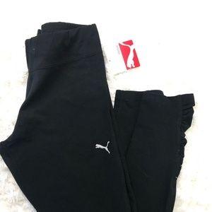 PUMA Pants - PUMA Womens Leggings Cotton Blend Athletic Capri